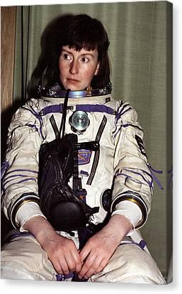 Helen Sharman, British Astronaut Canvas Print by Ria Novosti