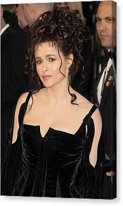 Helena Bonham Carter At Arrivals Canvas Print by Everett