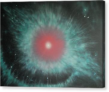 Helix Nebula Canvas Print by DC Decker