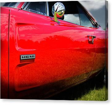 Hemi Charger Canvas Print by Thomas Schoeller