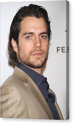 Henry Cavill At Arrivals For Whatever Canvas Print by Everett