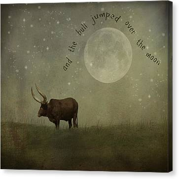Hey Diddle Diddle  Canvas Print by Juli Scalzi