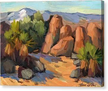 Hidden Valley At Joshua Tree Canvas Print by Diane McClary