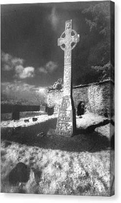 High Cross Canvas Print by Simon Marsden
