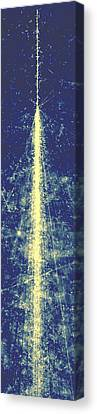 High-energy Cosmic Ray Canvas Print by Powell, Fowler & Perkins