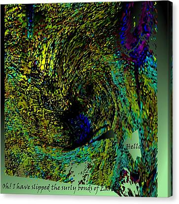 High Flight Canvas Print by Rod Saavedra-Ferrere