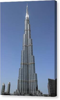 Highest Building In The World Canvas Print by Radoslav Nedelchev
