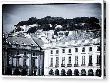 Hills Of Lisbon Canvas Print by John Rizzuto