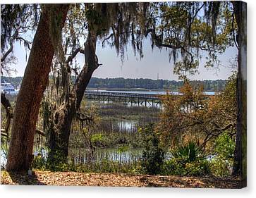 Hilton Head Scenic Canvas Print by Keith Wood
