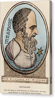 Hipparchus, Greek Astronomer Canvas Print by Photo Researchers, Inc.