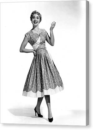 Hit The Deck, Jane Powell, 1954 Canvas Print by Everett