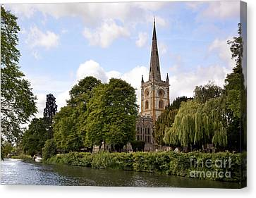 Holy Trinity Church Canvas Print by Jane Rix