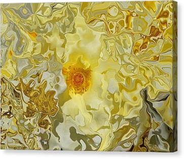 Homage To The Sun  Canvas Print by Daniele Smith
