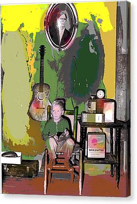 Home Sweet Home Canvas Print by Charles Shoup