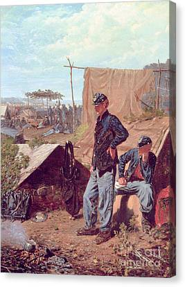 Home Sweet Home Canvas Print by Winslow Homer