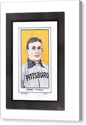 Honus Wager Canvas Print by Jay Kinney