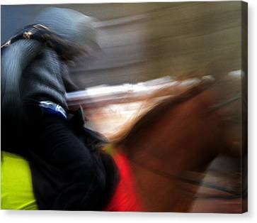Horserider Canvas Print by Colette V Hera  Guggenheim