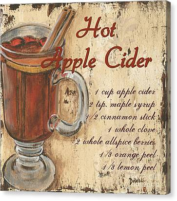 Hot Apple Cider Canvas Print by Debbie DeWitt