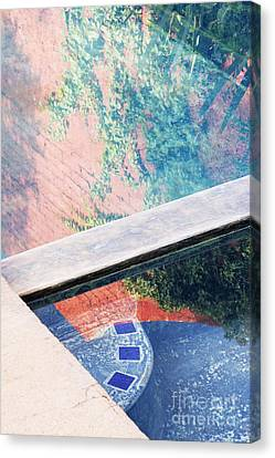 Hot Tub Canvas Print by Jeremy Woodhouse