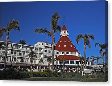 Hotel Del Coronado  Canvas Print by Jonathan Whichard
