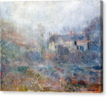 House At Falaise Canvas Print by Claude Monet
