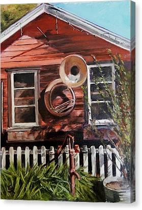 House Music Canvas Print by George Kramer