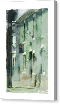 House On Barton Street Canvas Print by Bob Salo