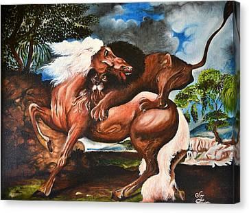 Hunt Canvas Print by Sumit Jain