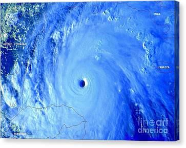 Hurricane Mitch 195 Mph Wind Canvas Print by Padre Art