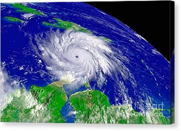 Hurricane Canvas Print by Padre Art