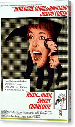 Hush...hush, Sweet Charlotte, Center Canvas Print by Everett