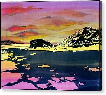 Hut Point Antarctica Canvas Print by Carolyn Doe