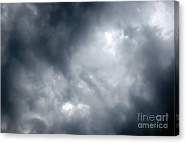 I Am No Storm Chaser Cloud Canvas Print by Andee Design