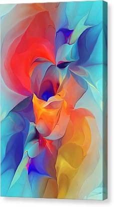 I Am So Glad Canvas Print by David Lane