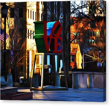 I Did It For Love Canvas Print by Bill Cannon