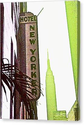 I Love New York Canvas Print by Beth Saffer