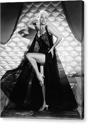I Married A Woman, Diana Dors, 1958 Canvas Print by Everett