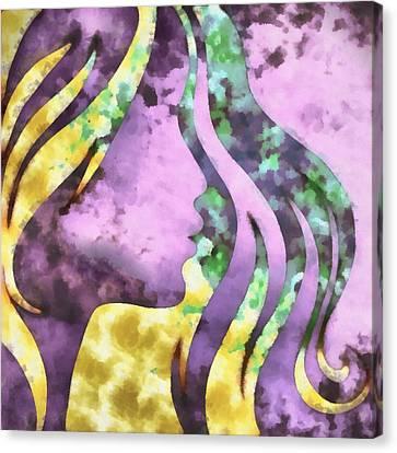 I Should Have Said Goodbye 1 Canvas Print by Angelina Vick