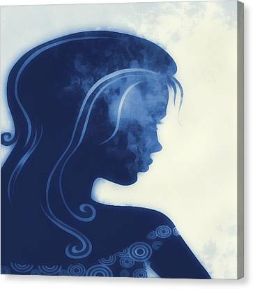 I Walked Away 3 Canvas Print by Angelina Vick
