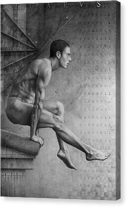 Icarus Suite Op.369 Canvas Print by Jose Luis Munoz Luque