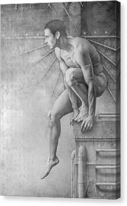 Icarus Suite Op.370 Canvas Print by Jose Luis Munoz Luque