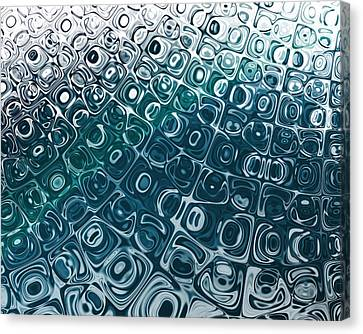Ice Cubes Canvas Print by Pam Blackstone