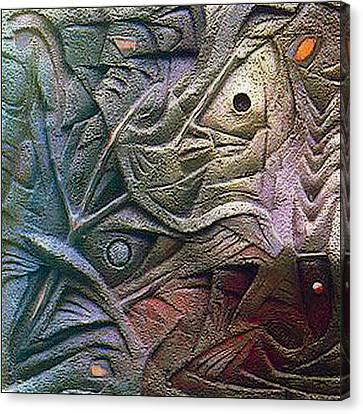 Icthus 1984 Canvas Print by Glenn Bautista