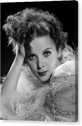 Ida Lupino, Paramount Pictures Photo Canvas Print by Everett