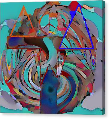 Ignotum Canvas Print by Rod Saavedra-Ferrere