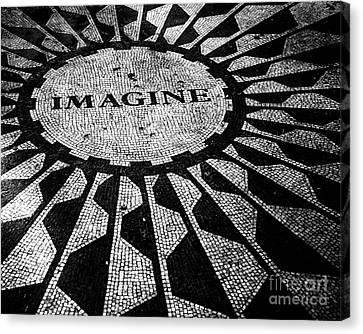 Imagine Canvas Print by Ken Marsh