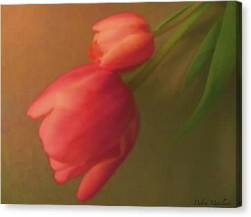 Impact Of Spring Canvas Print by Debra     Vatalaro