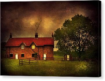In A Village Canvas Print by Svetlana Sewell