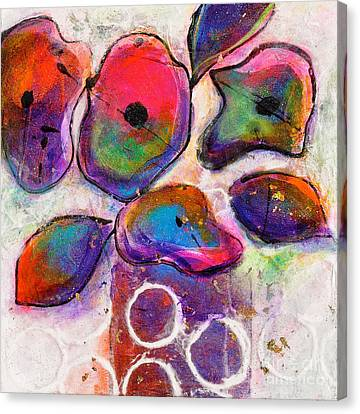 In Full Bloom White Bright Light Canvas Print by Johane Amirault
