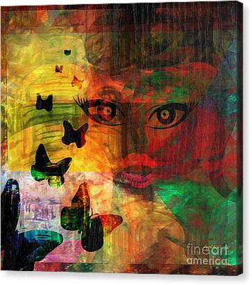 In Paradis Canvas Print by Fania Simon